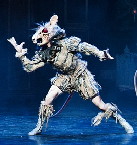 James Streeter (ENB) as the Mouse King. Public publicity photo by Patrick Baldwin.