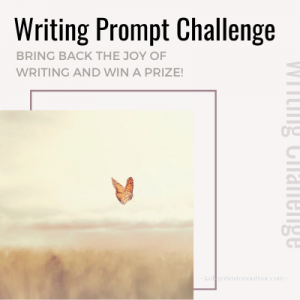 Link to Writing Prompt Challenge at Kate Johnston's blog